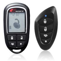 Auto Alarma Seguridad Encore E4 2 Vias Lcd 4 Ch 5 Botones