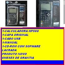 Calculadora Gráfica Hp 50g Original,manual Português,lacrada