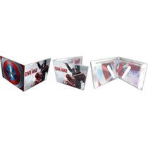 Cartera Marvel Cap America Civil War Heroe Accesorio Toxic