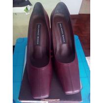 Zapatos Milano Bags Cuero Nuevos Originales Talla 37