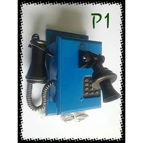 Telefone Antigo Retrô Litlle Phone Azul
