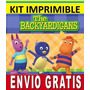 Kit Imprimible Backyardigans Diseña Invitaciones Y Tarjetas