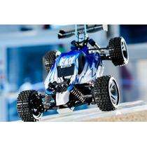 Carro Automodelo Buggy Wltoys A959 Vortex 1/18 Rc - Azul -