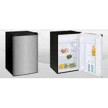Frigobar 4.5 Ft3 Color Acero, Refrigerador Y Congelador