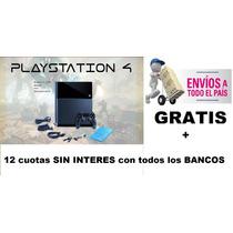 Playstation 4 Ps4 500gb+envio Gratis+12 Cuotas Sin Interes