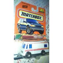 Matchbox Antaño Camioneta Camper Con Movimiento Lyly Toys
