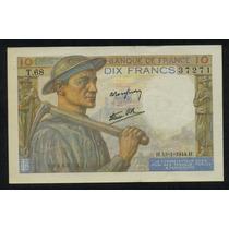 Guardia Imp. Francia 10 Francos 1944 Hermoso!!!!