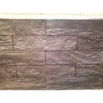 Piso Pared Interior Exterior Símil Piedra Madera Quebracho