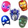 Mascara Con Luz Hulk Capitan America Spiderman Iron Man