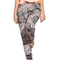 Pantalones De Tela Hippie Bohemio Comodo Moda Urbana Verano