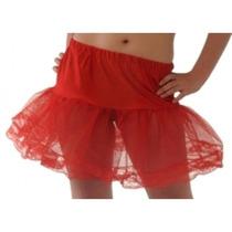 Tuttu - Neto Falda Slip Red Net Vestuario Grande Del Vestido