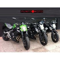 Kawasaki Er 6 N 0km !! Puntomoto !! 4642-3380 / 15-27089671