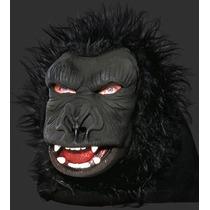 Máscara Macaco / Gorila C/ Pelos - Carnaval E Halloween