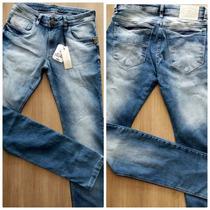 Calça Jeans Masculina Skinny Com Lycra Várias Marcas