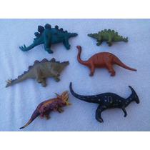 Lote 6 Dinossauros 16 Cms 0k