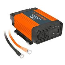 Inversor De Corriente Dual Con Puerto Usb 1000w Truper 10491