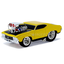 Chevelle Ss 1969 Muscle Machines Maisto 1:24 32238-amarelo