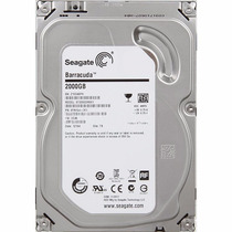 Disco Duro Interno Seagate 2tb 7200 Rpm 64mb St2000dm001 3.5