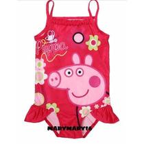 Traje De Baño Peppa Pig Pepa Moda Fiesta Playa Piscina