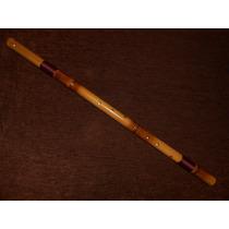 Flauta Transversal Bansuri Indian G Bass - Sopro Nativo