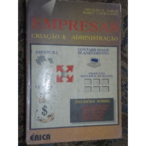 Livro Empresas Crianção E Administração - Farah E Cavalcanti