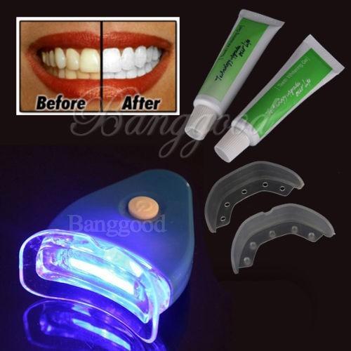 Dentes Brancos Luz Clareamento Dental Gel Branqueador Saude R 85