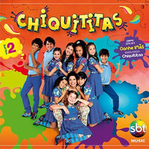 Cd Chiquititas Vol 2 Novo, Lacrado, A Pronta Entrega 10,00