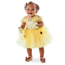 Disfraz Bella Bebe Disney Store Vestido La Bella Y La Bestia