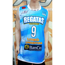 Camiseta Basket Regatas Corrientes A