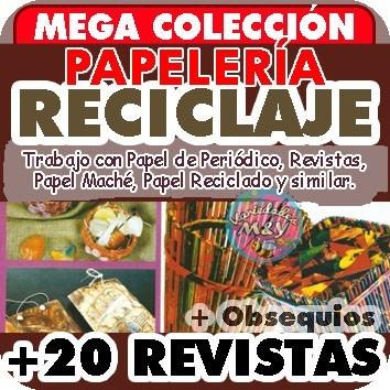 Reciclaje Papel Periodico Mache Y Mas Revistas Papeleria Bs 500