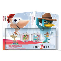 Kit Disney Infinity Phineas And Ferb Toy Box Pack