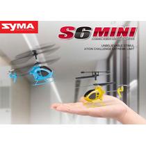 Helicóptero Rc Syma S6 3ch Con Gyro Rtf