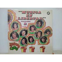 Disco Vinilo Lp Musica En Libertad Vol. 2