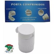 Porta Comprimidos C/ Amassador E Cortador Pb3000