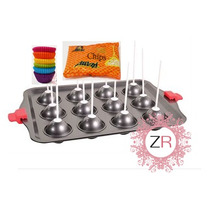 Kit De Cakepops Con Molde Chocolate Capacillos Repostería