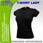 T-shirt Dama Clasica- Camiseta- Por Mayor- Bordar- Estampar