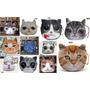 Porta Moedas Animais Gatos Cães Tigre Diversos Modelos