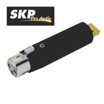 Adaptador Microfono Audio Xlr Canon A Usb Pc Compu Skp Gtia
