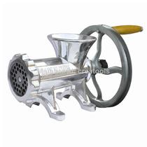Maquina Picar Carne Aluminio Manual Y Polea Nº 22 Picadora