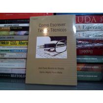 Como Escrever Textos Técnicos José Paulo Morei