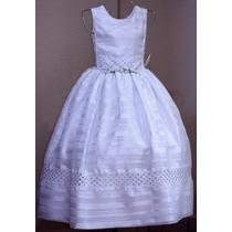 Vestido De Comunión - Listonado - Nuevo