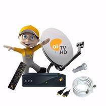 Kit Oi Tv Livre Hd Elsys Completo P/instalação