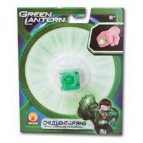 Anel Do Lanterna Verde Infantil 6+ Original Rubies (sem Luz)