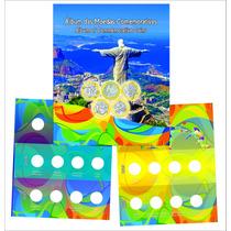Álbum Para As Moedas De 1 Real Comemorativas Jogos Olímpicos