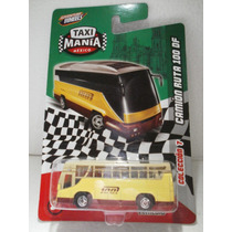 Taxi Mania Camion Ruta 100 Df Amarillo 1:64