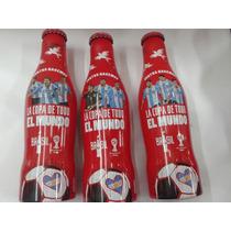 Coca Cola Mundial 2014 Edicion Limitada Botella Aluminio