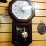 Reloj A Péndulo Madera Pila