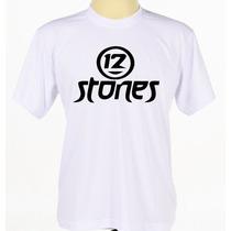 Camisa Camiseta 12 Stones Banda Gospel Cristã Rock Rap Pop