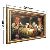 Cuadro Grande. La Ultima Cena. 70 X 100 Cm.