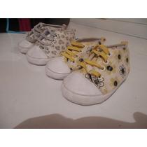 Sandalias Zapatillas Zapatos Para Bebe Hembra Niña Usados